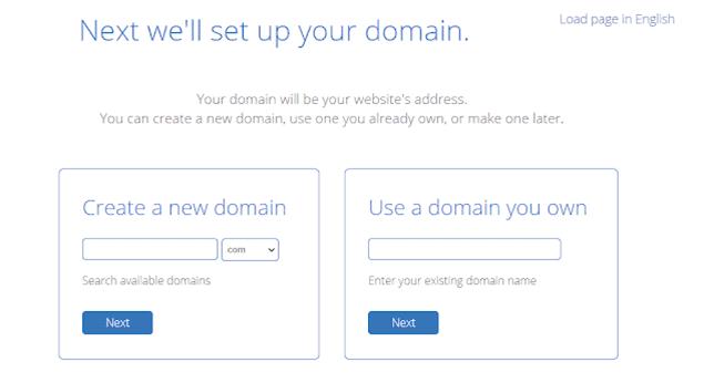 Bluehost में Free Domain