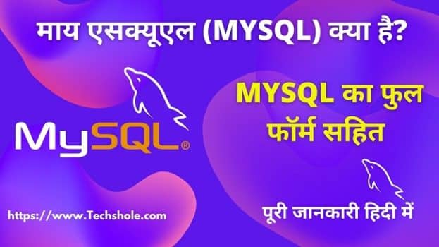 माय एसक्यूएल (MySQL) क्या है Full Form (What is MySQL in Hindi)