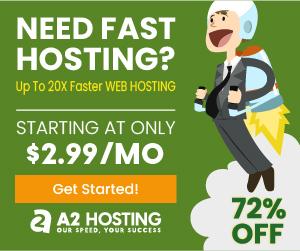 A2 Hosting 72% Discount