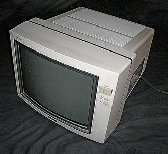 CTR computer-monitor