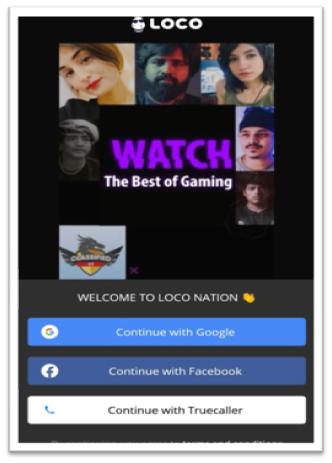 Create Account in Loco App in Hindi