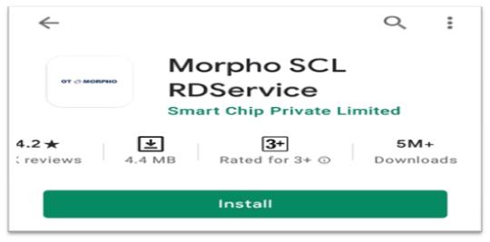 MORPHO SCL RDService
