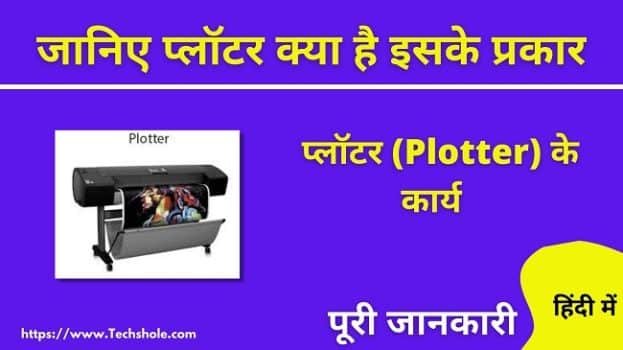 What is Plotter in Hindi