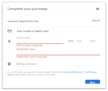 google play console billing