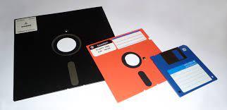 फ्लॉपी डिस्क का चित्र